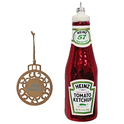 Heinz Tomato Ketchup Christmas Tree Ornament Bundle - Amazon.com: Heinz Tomato Ketchup Christmas Tree Ornament Bundle