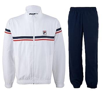 Fila Tricolore Trainingsanzug für Herren: Amazon.de: Sport & Freizeit