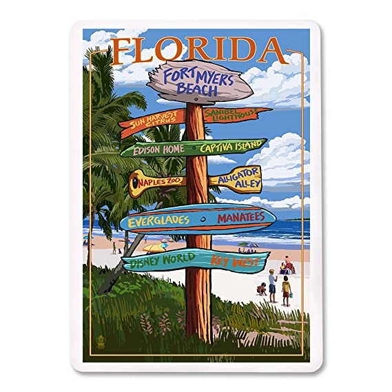 Amazon Com Fort Myers Beach Florida Destinations Sign Playing