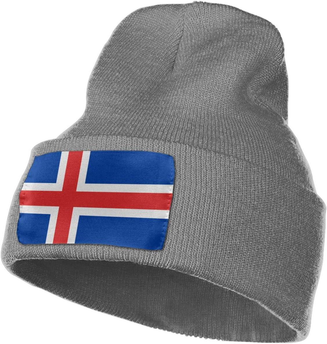 Warm /& Stylish Winter Hats Black MACA Iceland Unisex Slouch Beanie Hats Thick