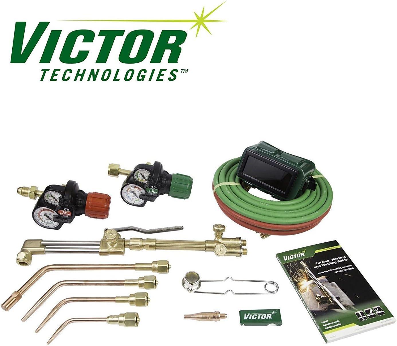 VICTOR 0384-2101 Journeyman Torch Kit Set w/Regulators - Replaces 0384-2036