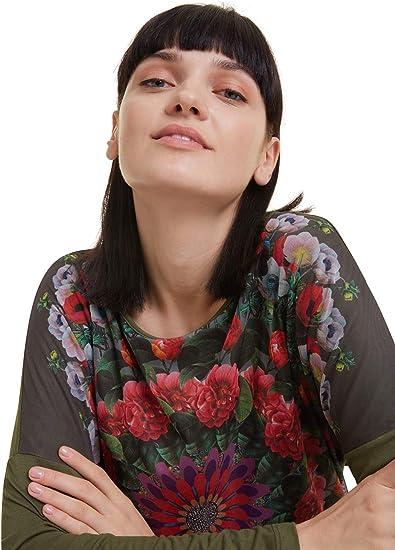 Desigual Damen Niko T Shirt: : Bekleidung