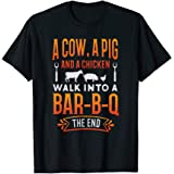 Barbecue BBQ Joke GIft For Grill Master Chef T-Shirt