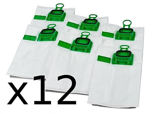 Tarro Paquete 2 x 6 Bolsas de aspiradora Premium para Vorwerk ...
