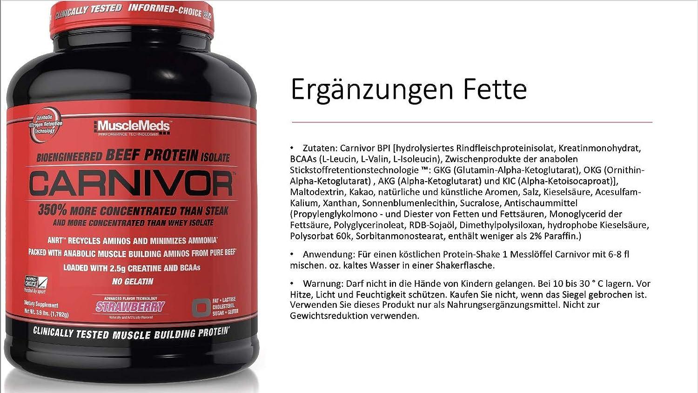 Muscle Meds Carnivor (4lbs) 1 unidad 2038 g