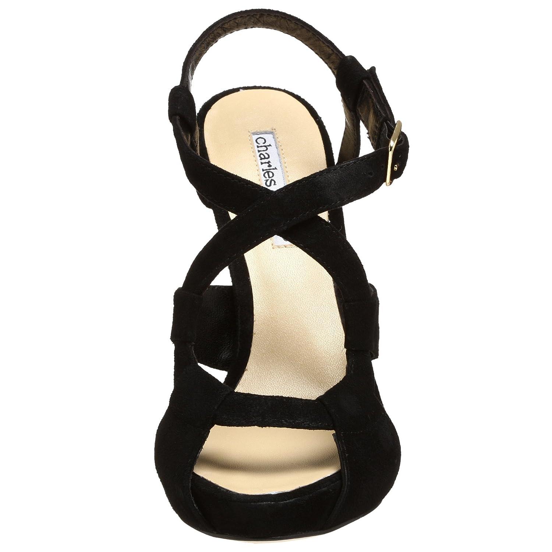 Charles David Women's Bracelet Sandal B0017YPQ6Q 7.5 B(M) US|Black