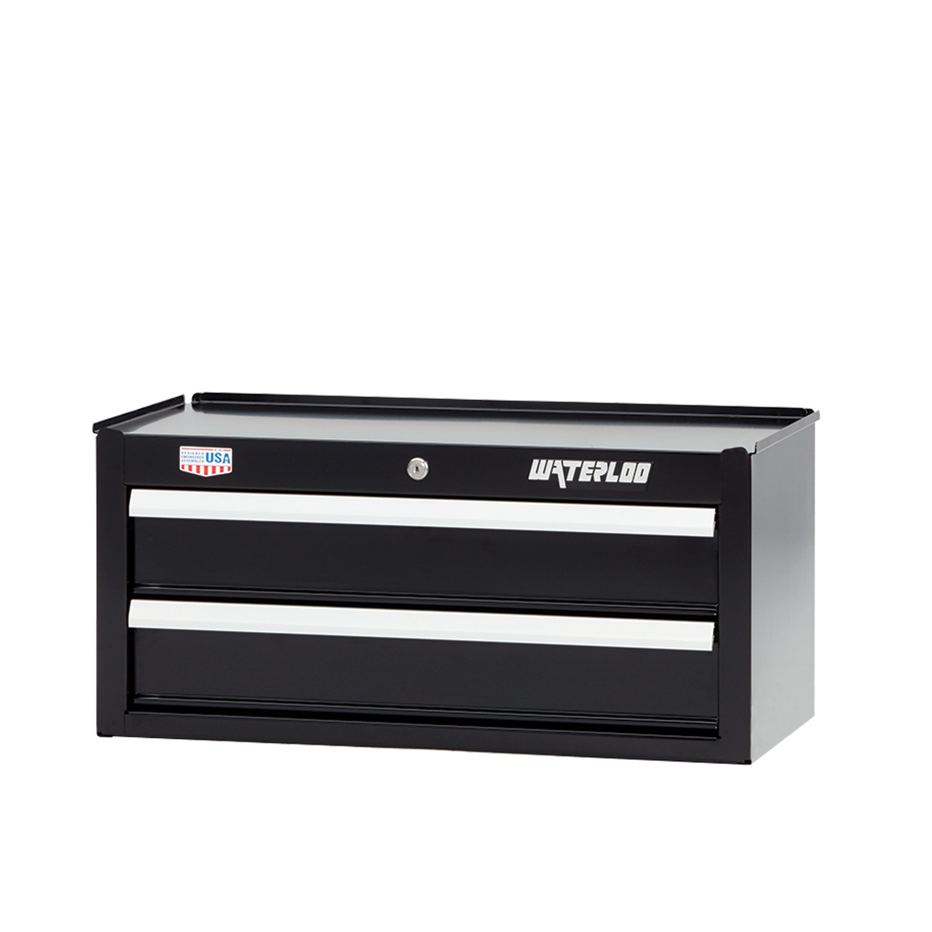 Waterloo W300 Series 2-Drawer Intermediate Tool Chest, 26'' - Designed, Engineered and Assembled in the USA
