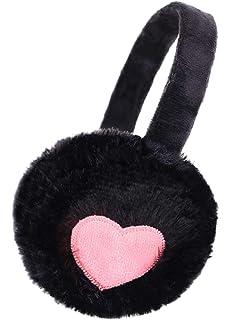 Thinsulate Kid Girls Cute Fluffy Adjustable Foldable Winter Insulated Earmuffs