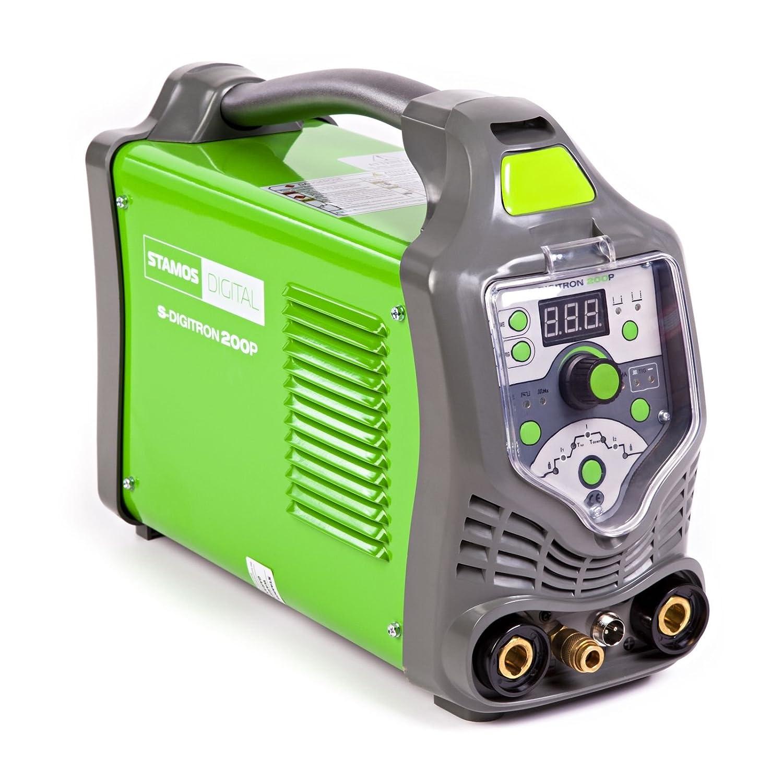 Stamos Germany - S-DIGITRON 200P - Poste à souder WIG - Pulse - 230 V -  max. 200 A - ED 60 % - HF - 15,4 kg  Amazon.fr  Commerce, Industrie    Science 4394089e58e3