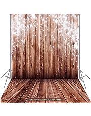 Andoer 1.5 * 2m Fondo Fotografía Clásico de Moda Suelo de Madera para Estudio Fotógrafo Profesional