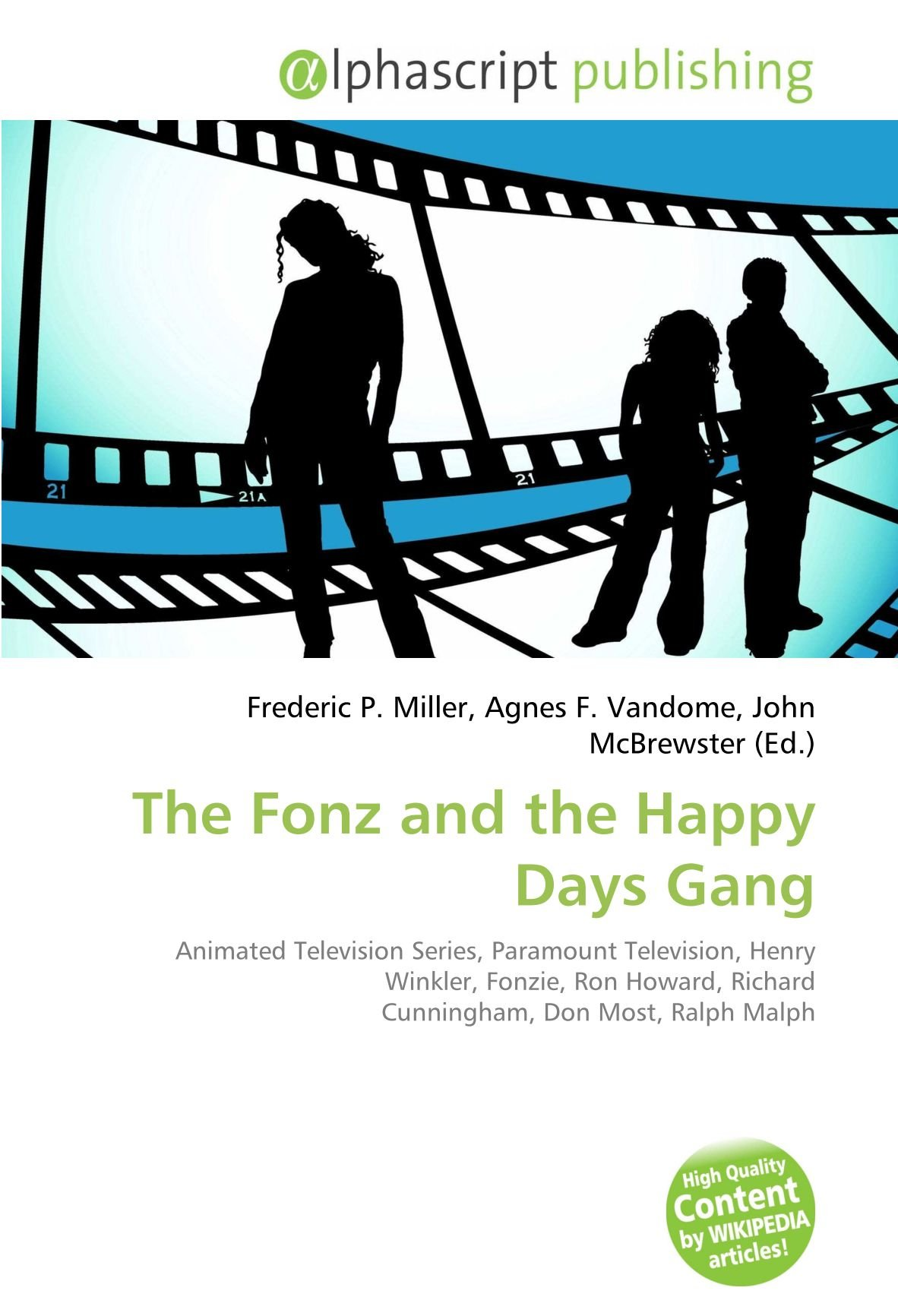 The Fonz and the Happy Days Gang: Animated Television Series ...