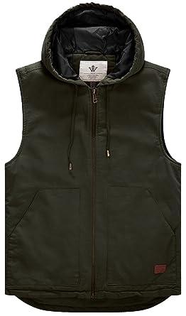 the best attitude ffdc5 0f3b0 WenVen Men's Quilt Insulation Countrywear Gilet Body Warmer