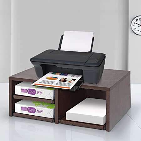 Comifort Printer Stand, Cabinet For Printer, 51 X 37 X 15 Cm Wenge