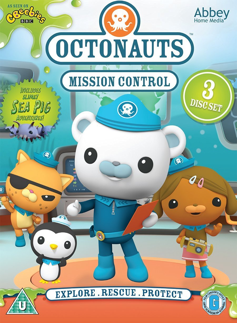 Octonauts - Mission Control Triple DVD Box Set: Amazon.co.uk: DVD ...