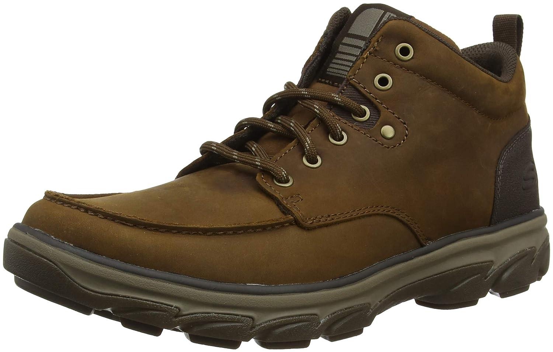 marrón (Dark marrón Cdb) Skechers Resment, botas Chukka para Hombre