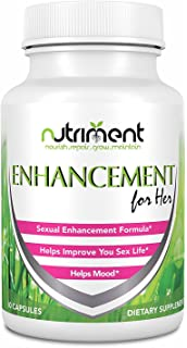 Enhancement For Her- Female Sexual Enhancement Pills- Increase Mood and Desire- Enjoy a