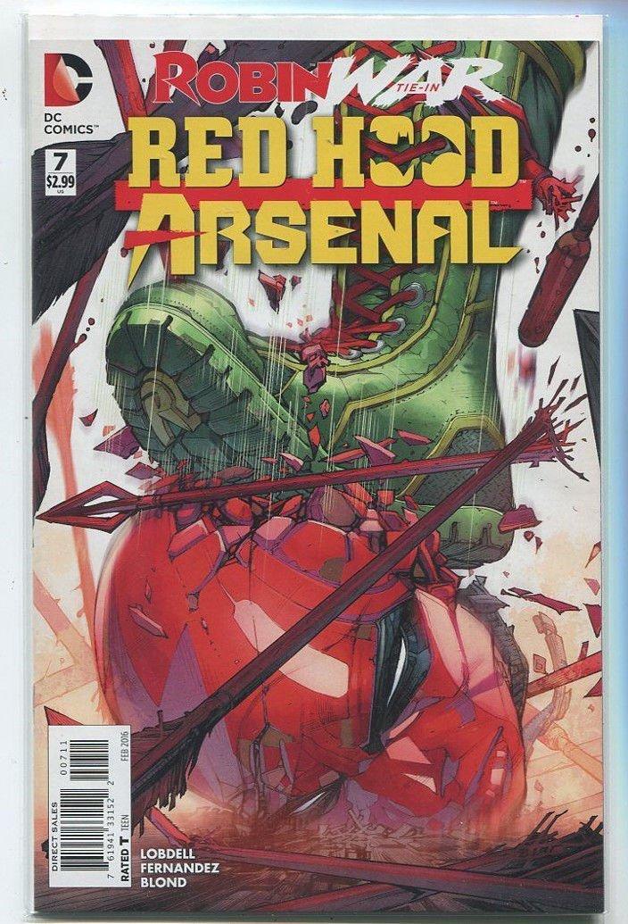Red Hood Arsenal - A Robin War Tie-In #7 Near Mint DC Comics MD8