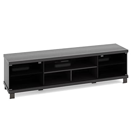 Amazoncom Sonax Holland Tv Stand For Tvs Up To 80 Black Kitchen