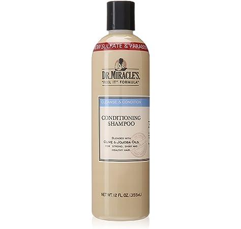 Amazon Com Dr Miracle S Conditioning Shampoo 12 Oz Hair Shampoos Beauty