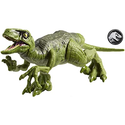 Jurassic World Attack Pack Velociraptor Figure: Toys & Games