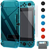 Dockable Case for Switch [Updated],FYOUNG Protective Accessories Cover Case for Switch and Replacement for Joycon Controller
