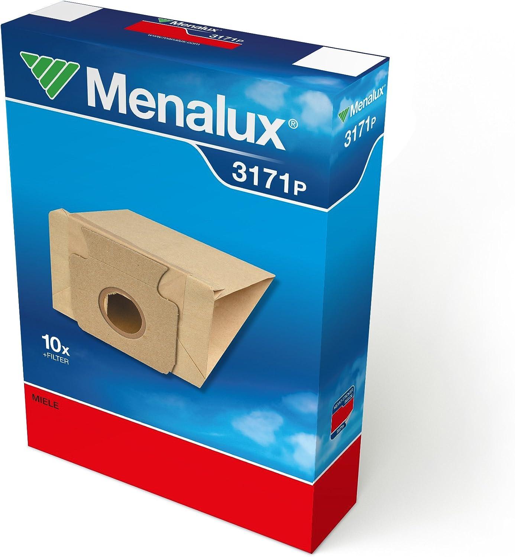 Menalux 3171 P - Bolsas para aspiradoras Miele (10 unidades ...