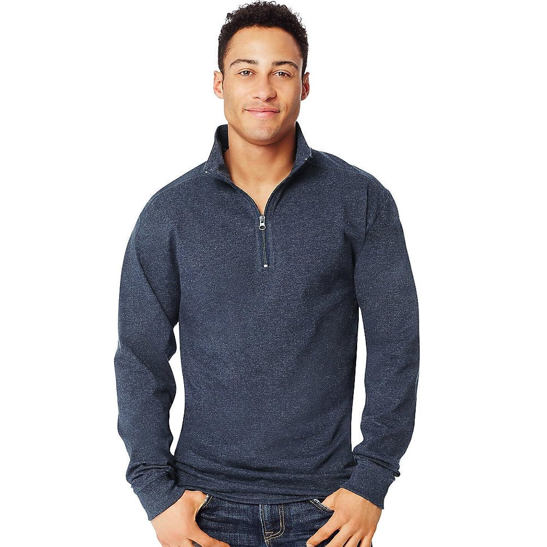 Hanes Men's Long Sleeve 1/4 Zip Pullover