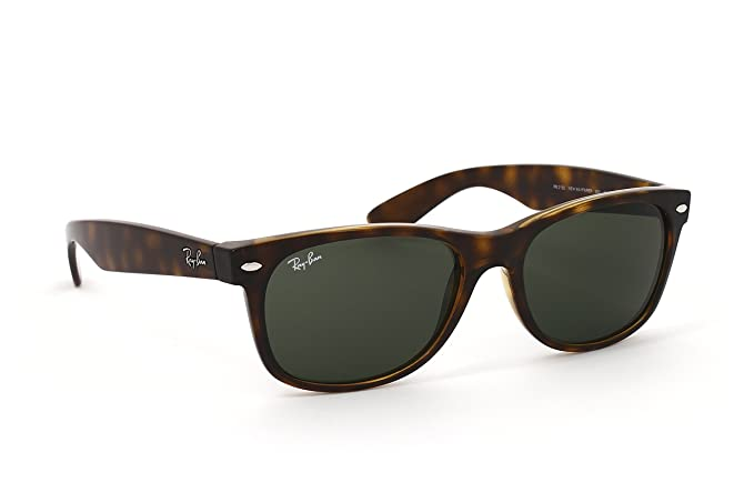 GAFAS DE SOL RAY-BAN NEW WAYFARER RB2132 902L/55: Amazon.es ...