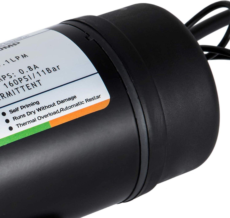GIOEVO Pompa a Diaframma Automatica Pompa ad Acqua ad Alta Pressione DP-160M
