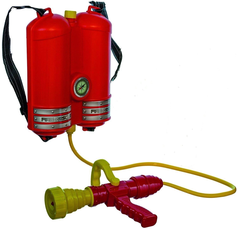 KSS Großes Wasserspritzen - Set Feuerwehr Design Wasserpistolen Wasserpistole