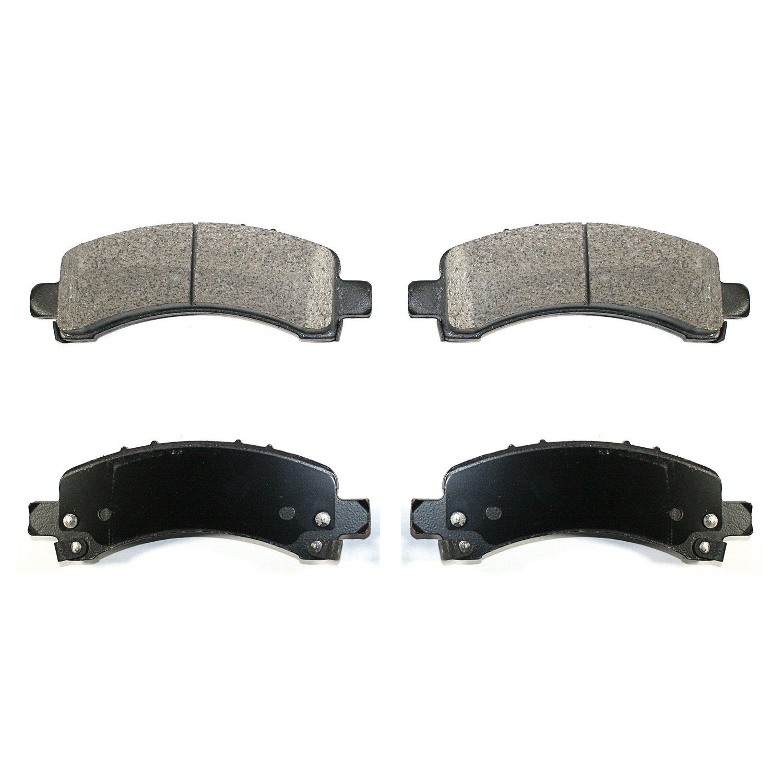 DuraGo BP974AC Rear Semi-Metallic Brake Pad