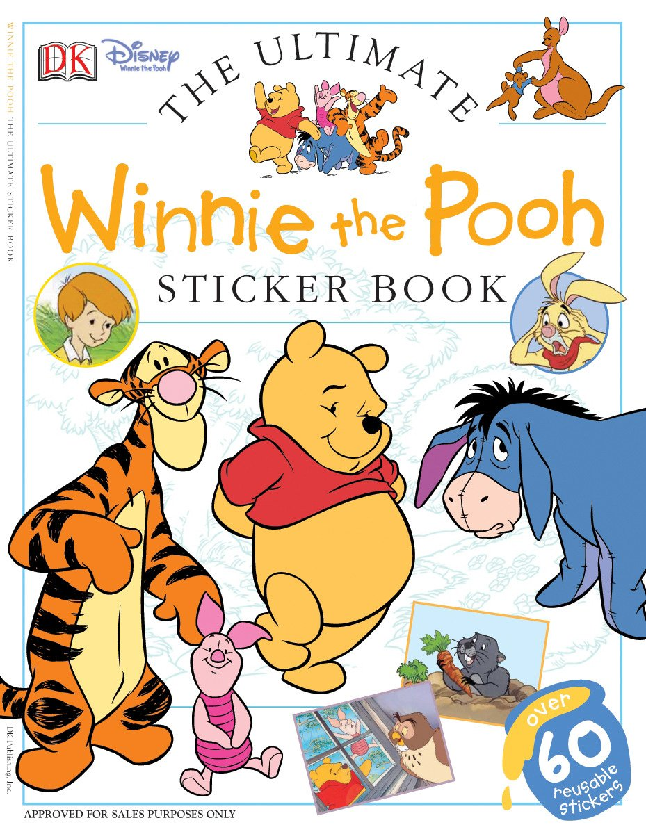 60 Winnie the Pooh Peel /'N Stick Christmas Gift Tags Christopher Robin movie