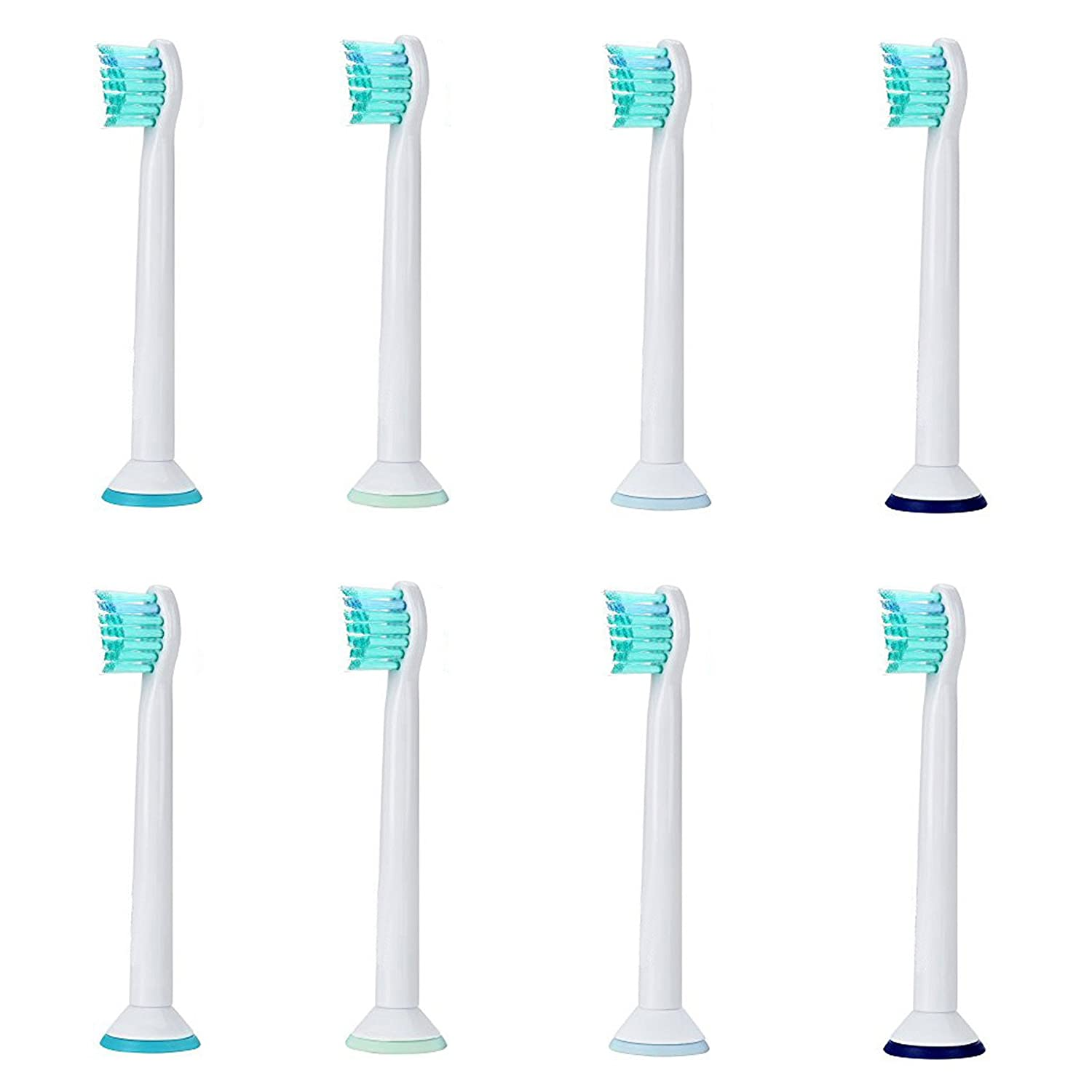 8-pack Philips Sonicare ProResults HX6023 / HX6024 Compatible Compact Brush Heads, fits all Sonicare Snap-on models: DiamondClean, Flexcare Series, HealthyWhite, Plaque Control, Gum Health, etc. DiscoveryHealth