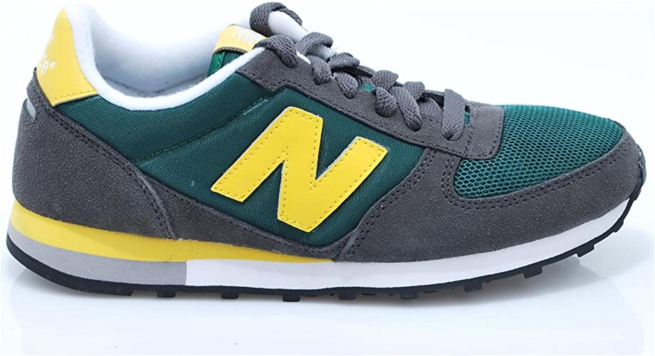 New Balance U430 SGY U430 VERDE LETRA AMARILLA: Amazon.es: Zapatos ...