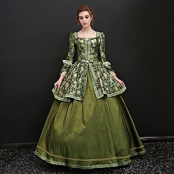 d5bdc7ef8372e 発表会 舞台衣装 ドレス 豪華なドレス お姫様 ロングドレス 中世貴族風 ノーブランド
