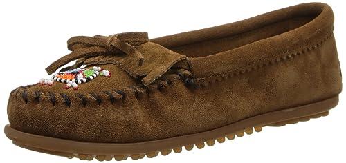 Minnetonka Me To We Maasai Moc, Mocasines para Mujer: Amazon.es: Zapatos y complementos