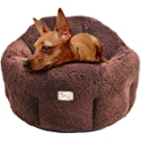 """Cat Cuddler Dog Bed Deep Dish Comfort Puppy Nest for Small Pets 20""""X20""""X9(12)"""" PUPTECK"""