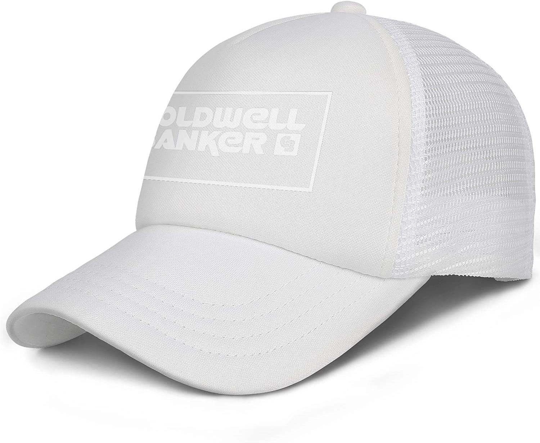 ERT4WS Mens Adjustable Coldwell_Banker_Logo-Baseball Cap Cotton Golf Hats