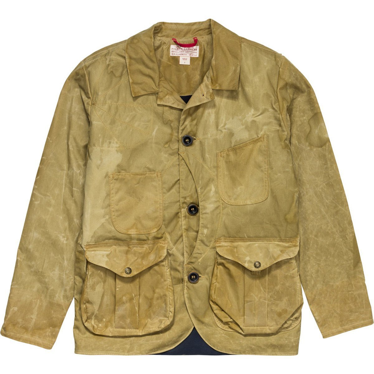 Filson 10415 Soy Wax Guide Work Jacket (X-Large, Tan)