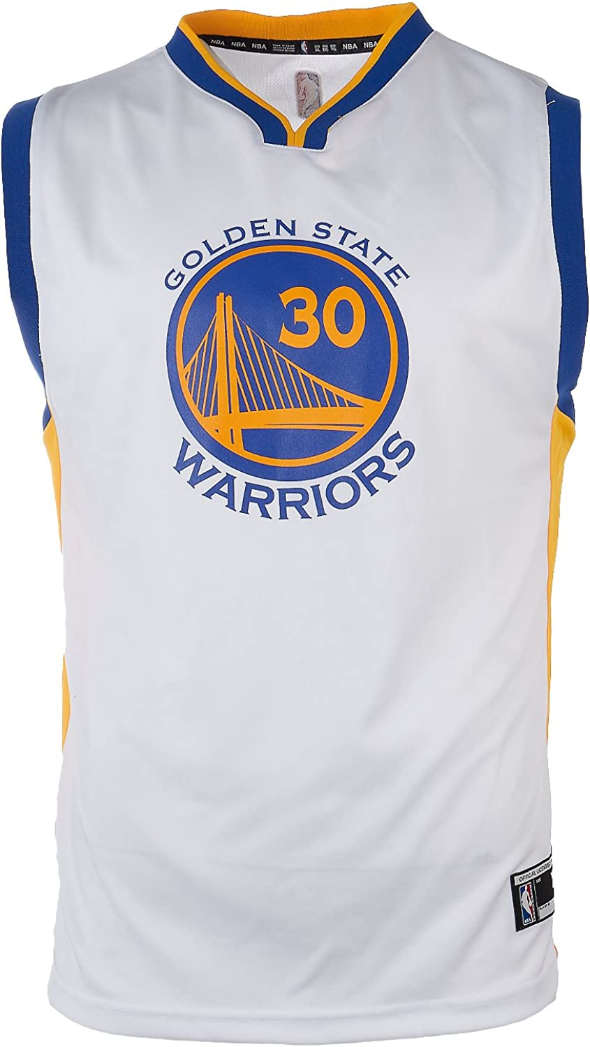 Stephen Curry Golden State Warriors #30 NBA Youth Home Jersey White