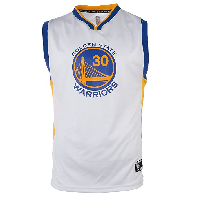 save off 36ca0 f63ca Stephen Curry Golden State Warriors #30 NBA Youth Home Jersey White