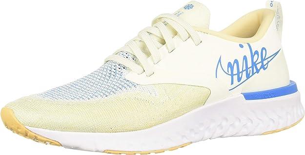 Nike W Odyssey React 2 FK JDI, Zapatillas de Running para Mujer, Multicolor (Sail/Blue Hero-Pale Vanilla-Muslin 100), 43 EU: Amazon.es: Zapatos y complementos