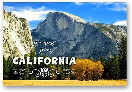Tarjetas postales de CALIFORNIA GREETINGS de 20 postales idénticos. Tarjetas postales de CA. Fabricado en EE.UU.: Amazon.es: Oficina y papelería
