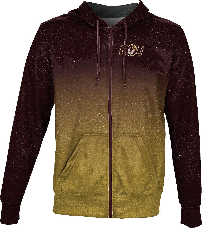 ProSphere Brown University Girls Zipper Hoodie Ombre School Spirit Sweatshirt