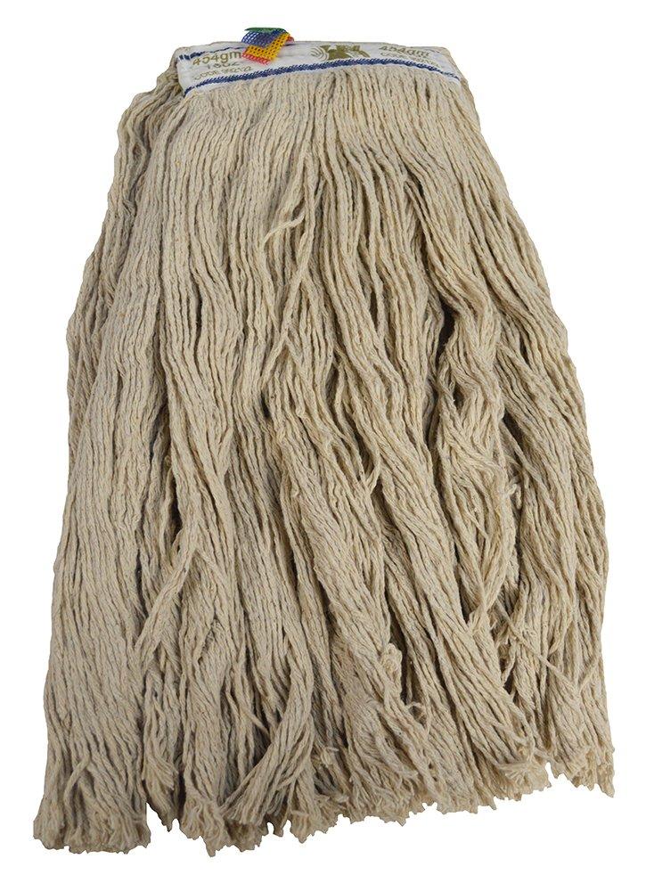 Traditional PY Cotton Cut End Narrow Band Kentucky Mop Head, 341 g 991743 SYR