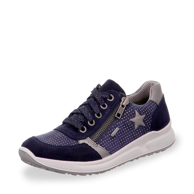 3-09151-80 Kinder Mädchen Gore-TEX® Schuh mit Schnürung Veloursleder Superfit