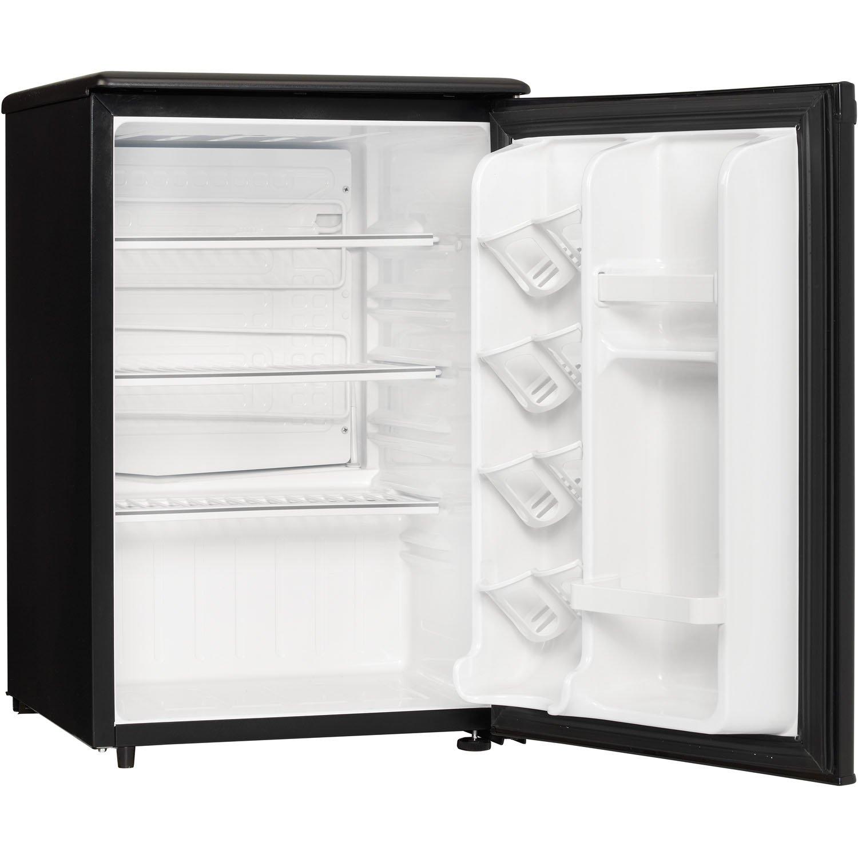Amazon.com: Danby Designer DAR026A1BDD Compact All Refrigerator, 2.6 Cubic  Feet, Black: Appliances