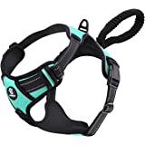 VavoPaw Dog Vest Harness, No Pull Design Pet Soft Padded Reflective Leash Chest Harness with Adjustable Strap for…