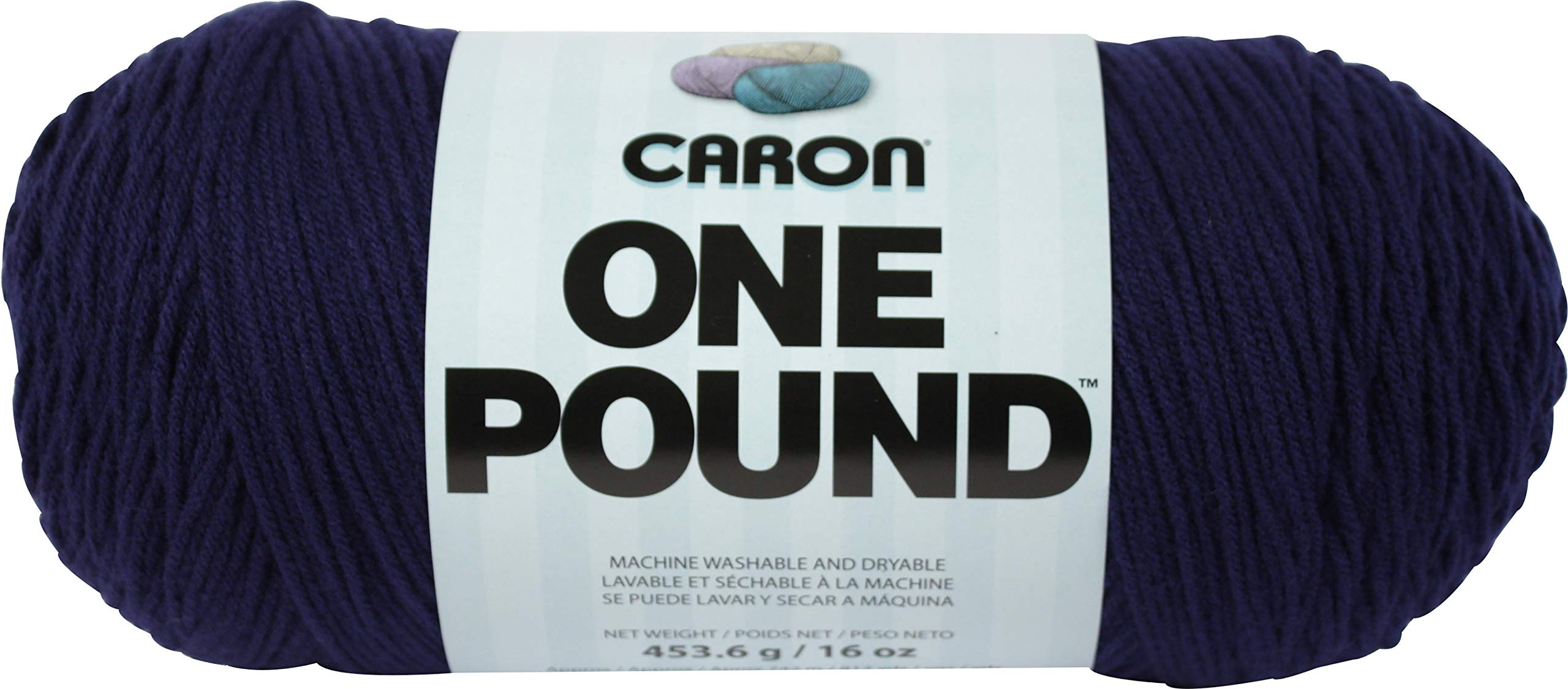 Caron 99583 One Pound Yarn-Midnight Blue, Multipack of 12, Pack by Caron (Image #2)