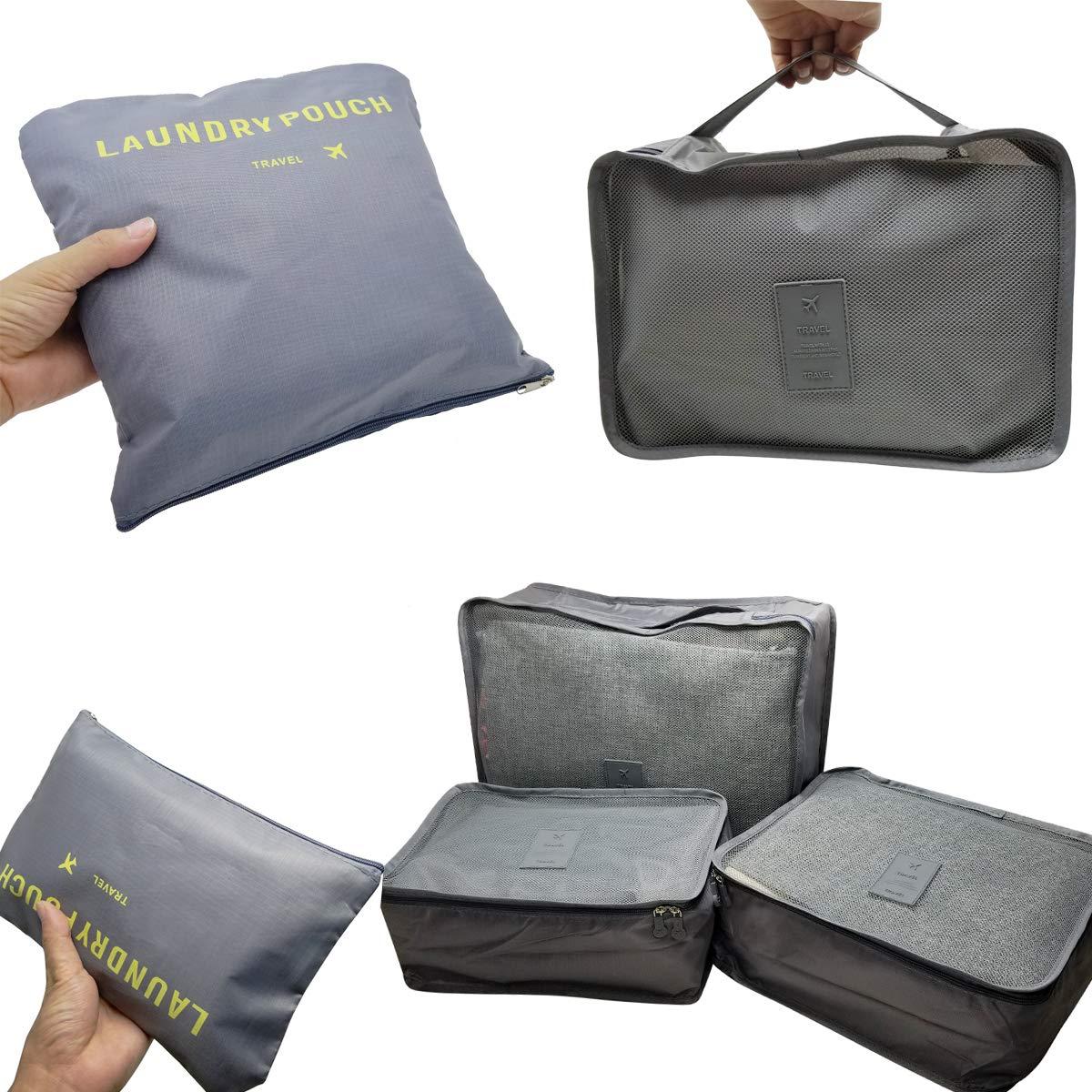 Amazon.com: M-Jump - Juego de 6 bolsas de almacenamiento ...